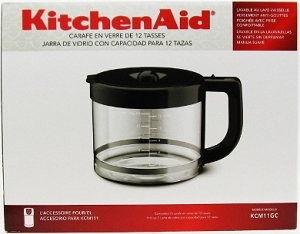how to clean kitchenaid coffee maker kcm111ob